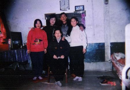 전재천 씨의 중국에서 단란했던 시절.