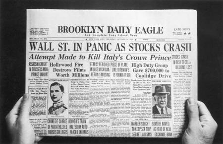 이 신문은 전설이 되었고 이 날은 검은 목요일(Black Thursday)이란 이름으로 역사에 남았다.