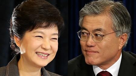 문재인과 박근혜, 가치의 차이