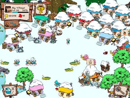 집들도 다 눈 덮여 있고, 눈이 내리고 있다.