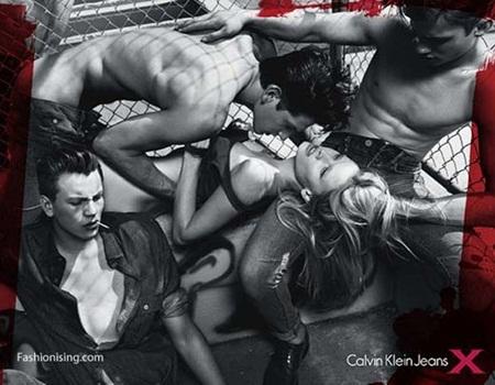 캘빈 클라인 광고