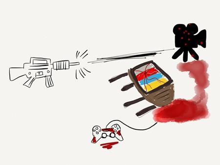 총기사고 원인이 게임과 드라마? 바보야, 문제는 총기 판매야!