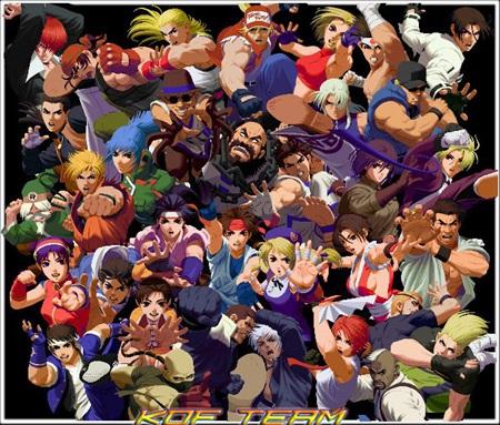 3vs3 팀배틀 시스템, 크로스오버, 많은 캐릭터 수
