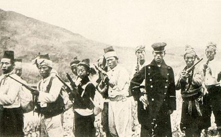 단발령 시행에 반대하여 일어난 을미의병(1895).