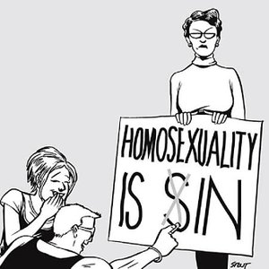Gays Denigrating Christianity