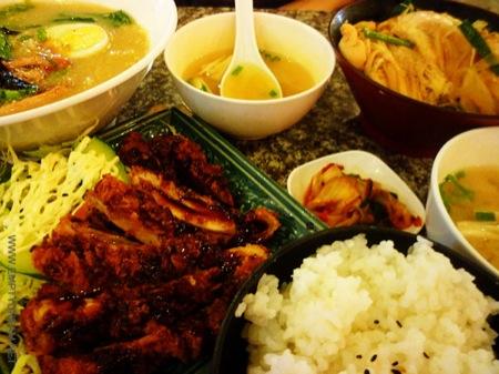 태국의 일본 음식