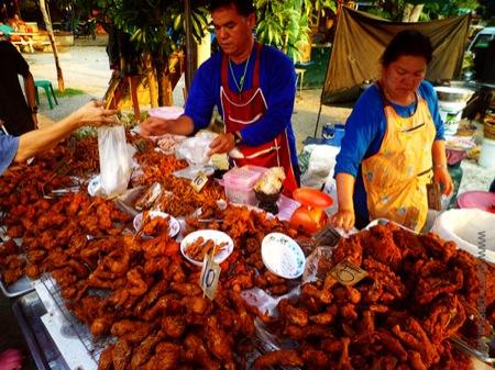 태국의 닭집