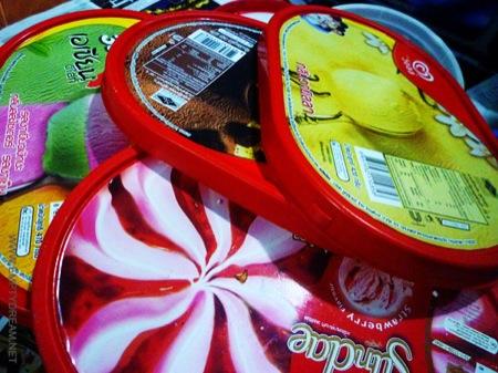 태국의 아이스크림