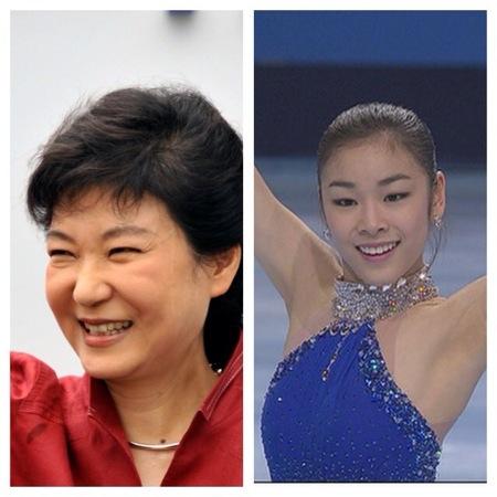 두 명의 여왕 : 박근혜와 김연아의 평행이론