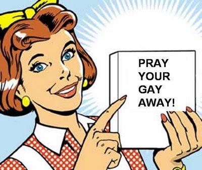 """""""당신이 이성애자가 되기 위해 기도하세요!"""""""