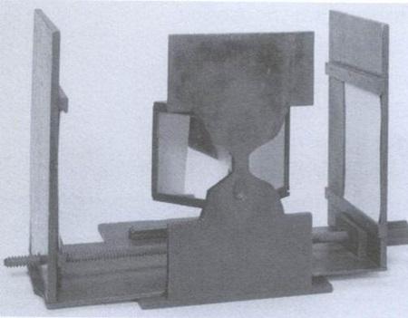 휫스톤의 첫번째 mirror stereoscopic (Science museum, London)