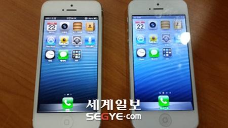 어느 쪽이 진짜 아이폰이지!!!