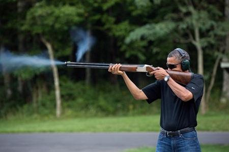 포샵질 하지 말라고 백악관에서 올린 사진.
