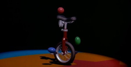 이 장면 하나에도 스쿼시 앤 스트레치를 비롯한 애니메이션 동작 연구가 잘 구현되어 있어요.
