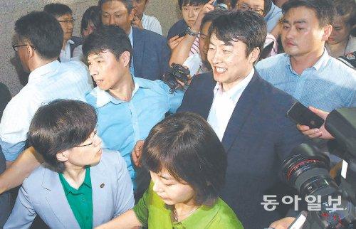 동아일보 1면 사진