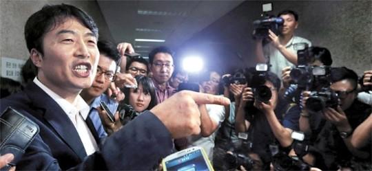 중앙일보 1면 사진