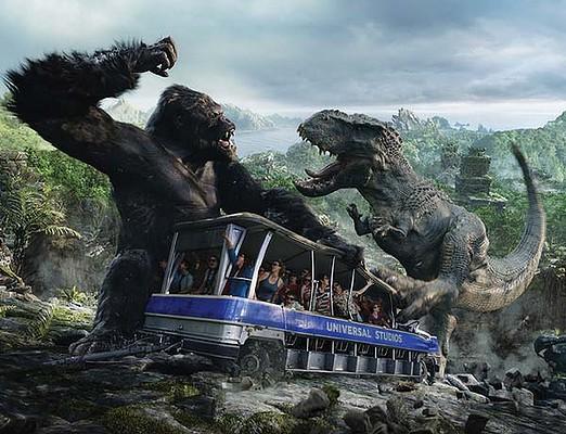 King Kong 360도 3D