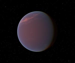 글리제 1214 b의 상상도