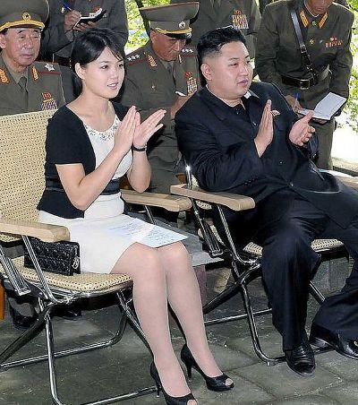디올과 샤넬을 애용한다고 알려진 김정은의 부인 리설주.