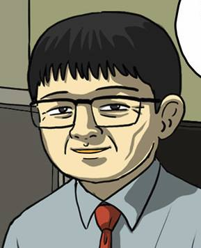 강풀 만화 에도 출연한 역자 황승식 교수.