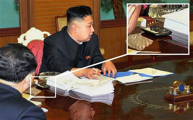 평소 장성택 숙청 계획을 스마트폰으로 꼼꼼이 관리하던 김정은 1위원장