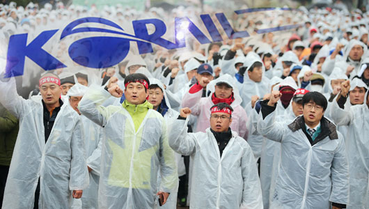 코레일 파업 완전분석 – 파업과 민영화와 한국철도