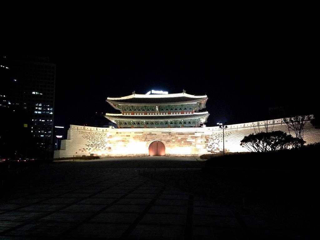2013년 겨울의 숭례문