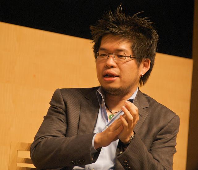 유튜브의 창업자, 스티브 첸. (*출처: http://www.flickr.com/photos/ari/2867658401/)