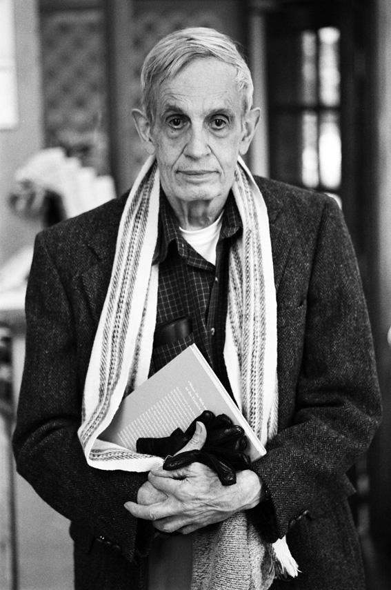 극단적으로 이성의 명령에 충실했던, 천재 수학자 존 내쉬. 영화 '뷰티풀 마인드'의 주인공이며, 노벨경제학상을 받았다. Peter Badge / Typos1 사진. CC BY-SA.