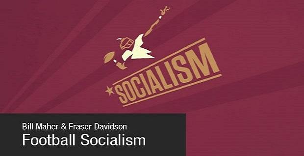 자본주의 메카 미국에서 사회주의로 성공한 NFL