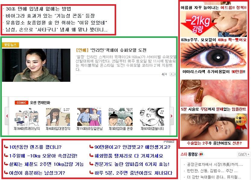 가독성으로 살펴본 한국의 닷컴 언론: 독자보다 광고주