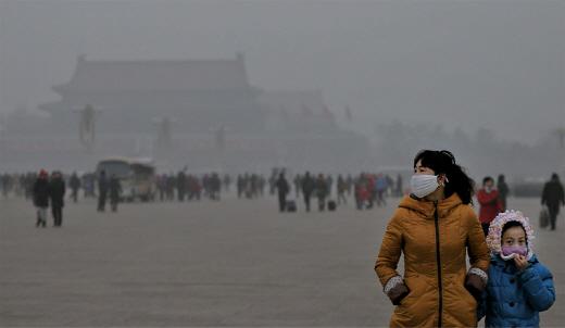 중국 대기 오염, 1인당 5년 수명 줄인다