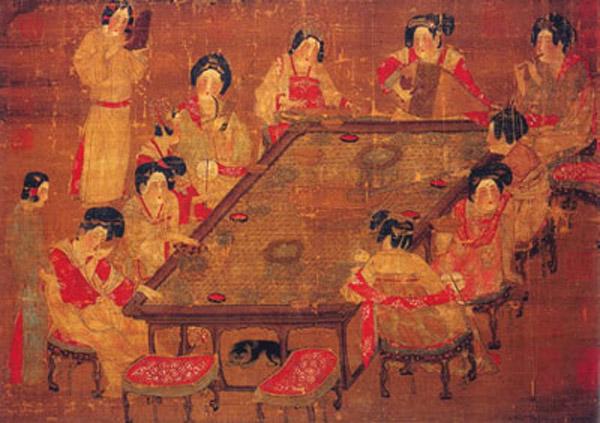 8세기 중국 미녀들의 8가지 화장법