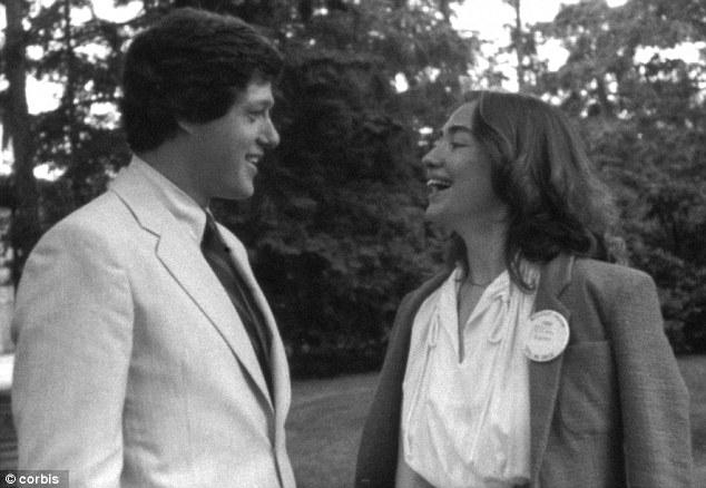 1969년의 빌 클린턴과 힐러리