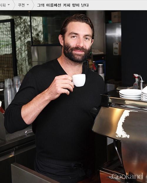 울버린을 닮은 폴 바셋. 나는 그가 만든 커피를 먹어본 적이 없다. 출처:쿠켄