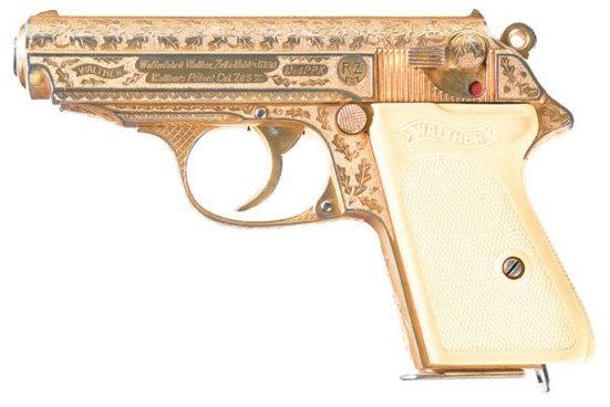 한창때(아니 나치 정권때)는 이런 선물용 권총까지 인기.
