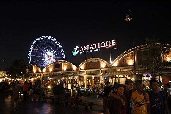 방콕 최대의 유럽풍 야시장, 아시아티크