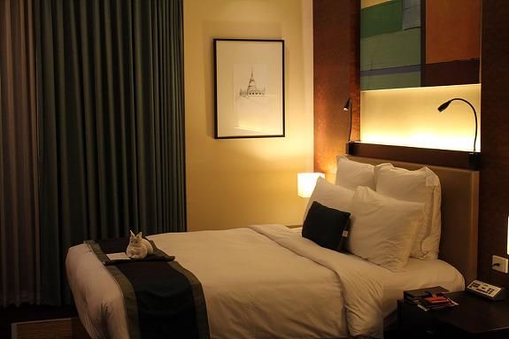 내가 묵었던 비즈니스 호텔 '디에아스 룸피니' 호텔
