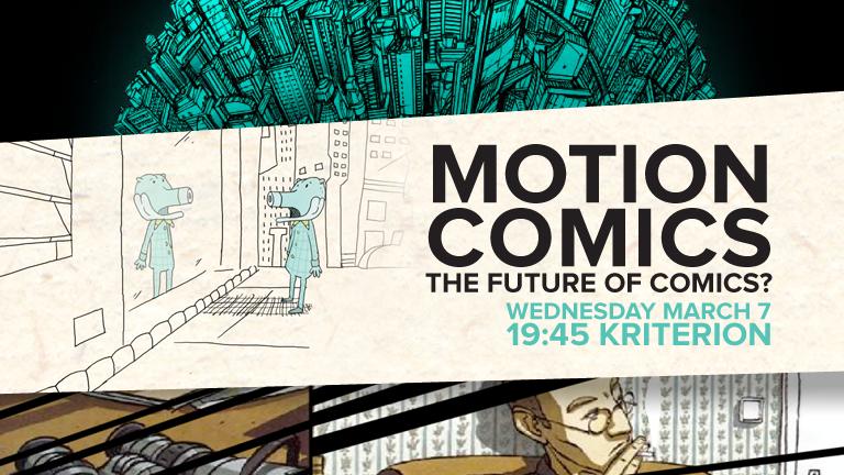 만화의 미래, 모션 코믹스의 거장들을 만나다