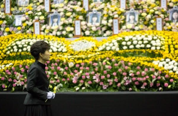 박근혜 대통령을 위한 '사과' 첨삭지도