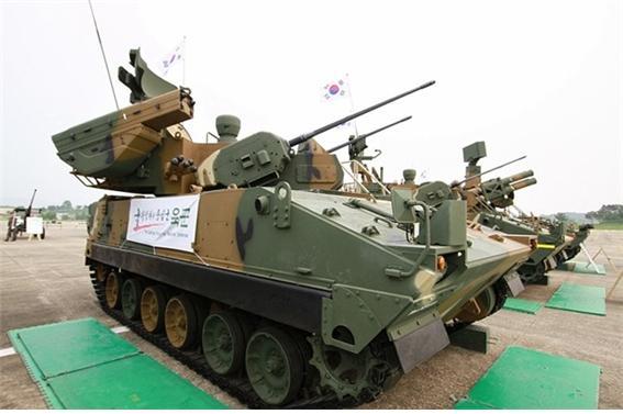 K-30 유도탄 탑재형 하이브리드 비호.