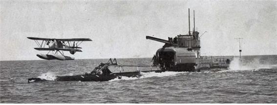 영국 해군의 HMS M2 잠수항모