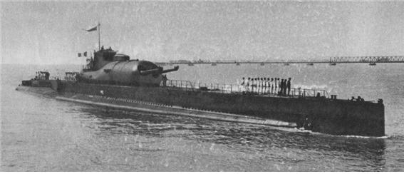 프랑스 해군의 쉬르쿠프급 잠수순양함(Underwater Cruiser)