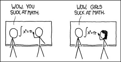 여성이 수학을 잘해도 차별 받는 이유