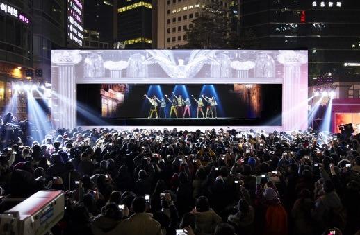 소녀시대홀로그램공연