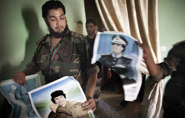 카다피의 리즈 시절.
