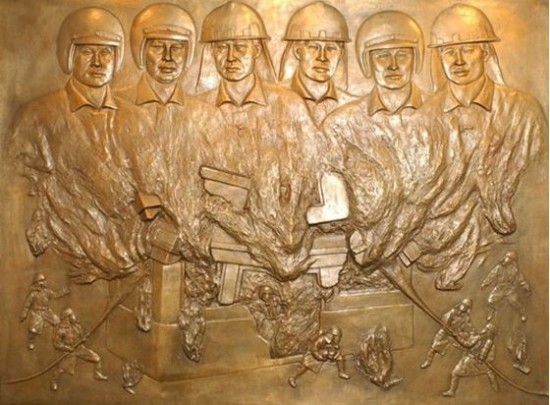 홍제동 화재현장의 기억, 6인의 영웅들