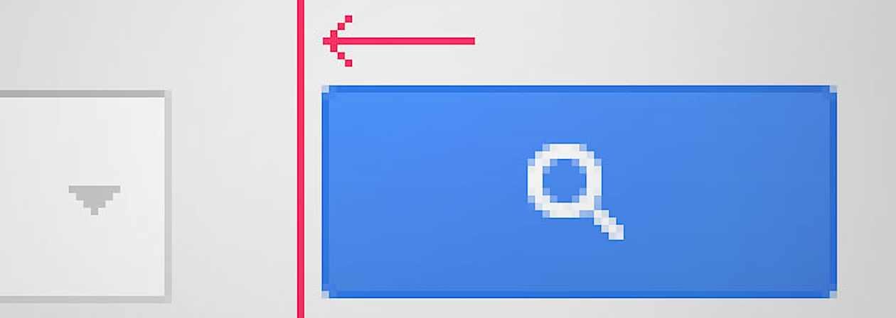 왜 그 버튼을 3픽셀 옮겨야만 하는가?