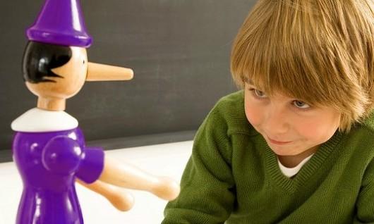 당신의 아이를 거짓말쟁이로 만들지 않으려면