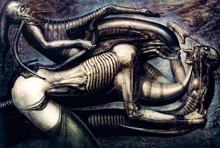 H. R. 기거, 외계인 창조자에 대한 모든 것